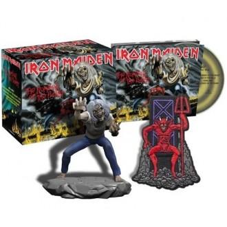 Iron Maiden - Number Of The Beast (Box with statue)