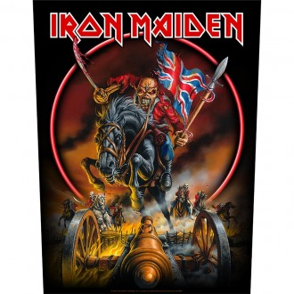 Iron Maiden - Maiden England (Back Patch)