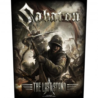 Sabaton - The Last Stand (Back Patch)