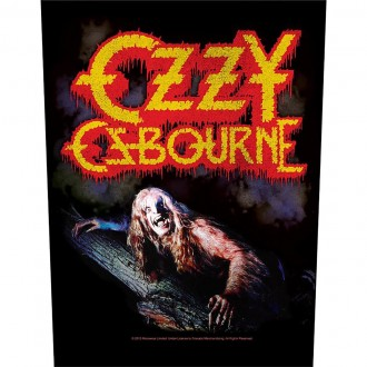 Osbourne, Ozzy - Bark At The Moon (Back patch)